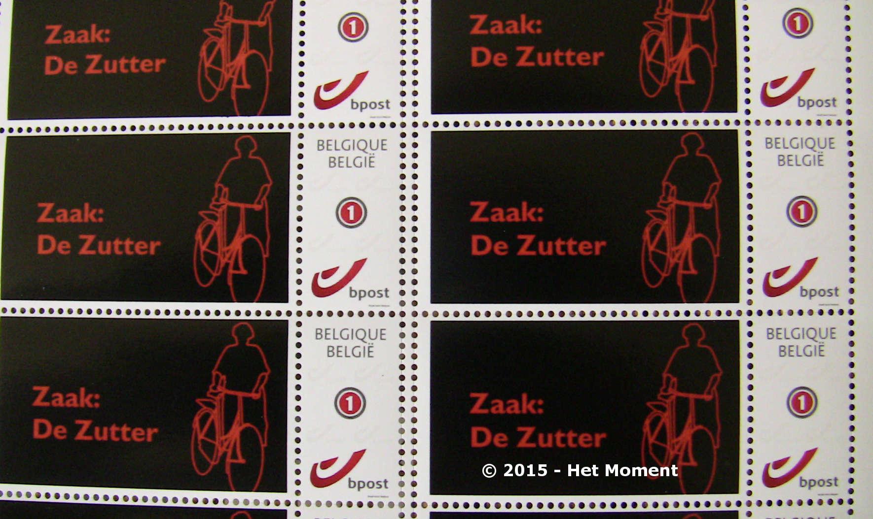 Postzegel Zaak: De Zutter